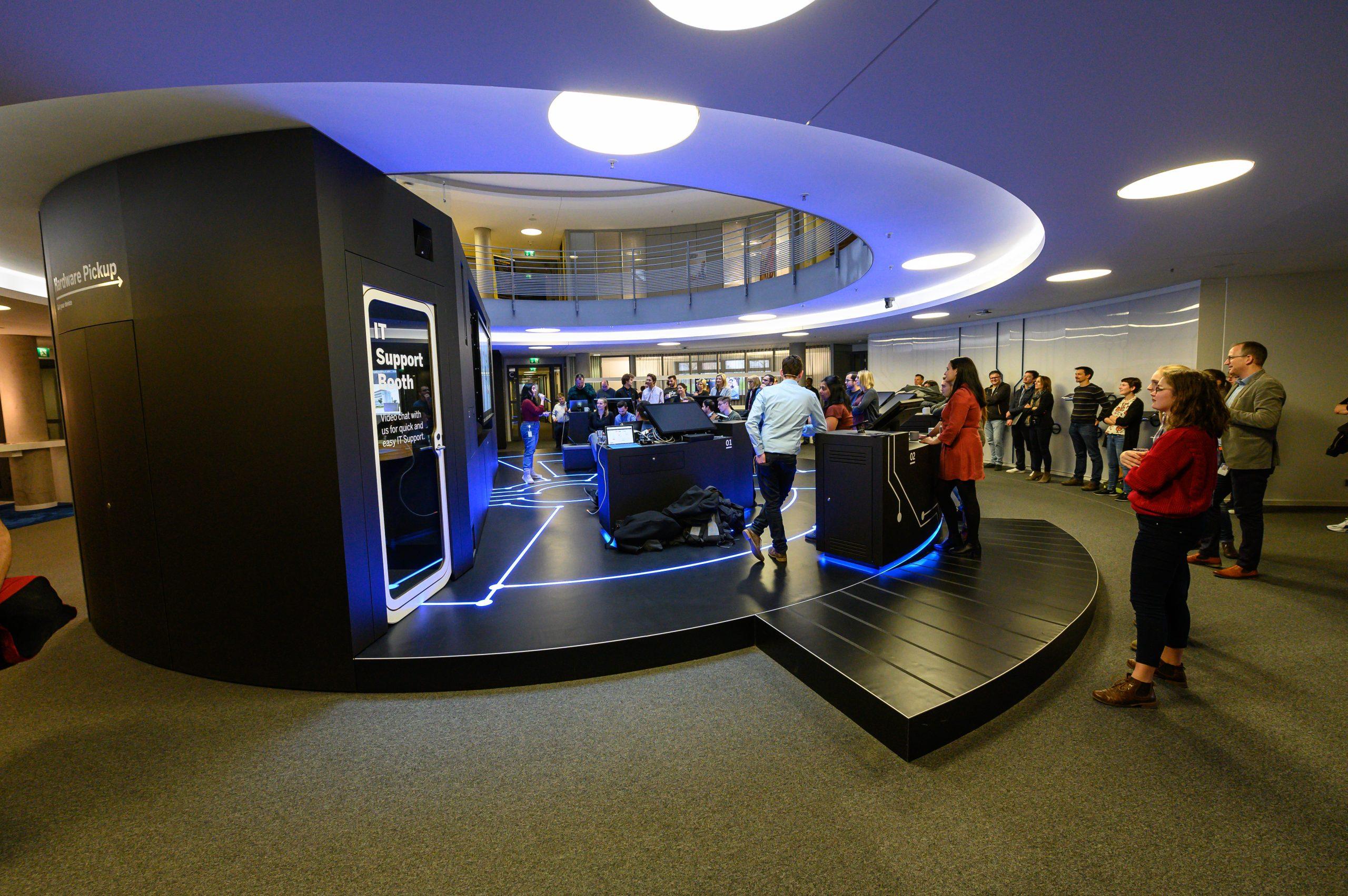 Sharing my work at SAP IT Showroom, Walldorf Germany